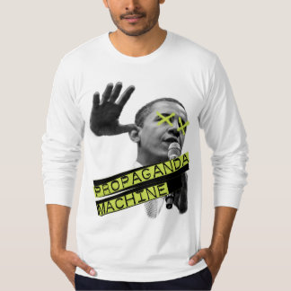 Máquina da propaganda t-shirts