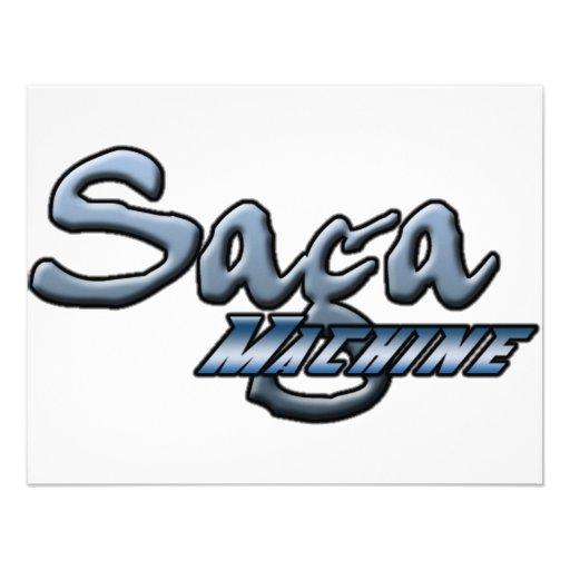 Máquina da saga convite personalizados