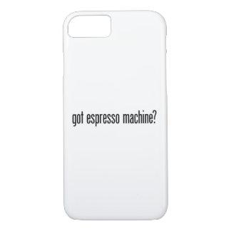 máquina de café obtida capa iPhone 7