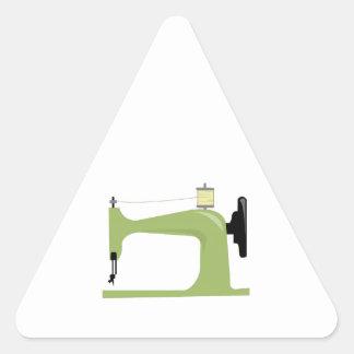 Máquina de costura adesivos triângulo