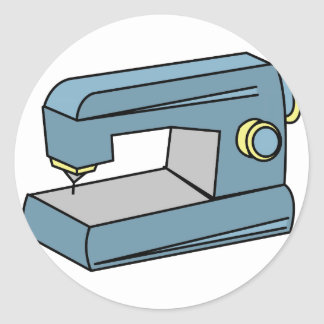 Máquina de costura adesivo redondo