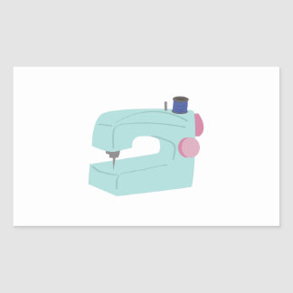 Máquina de costura adesivo retangular
