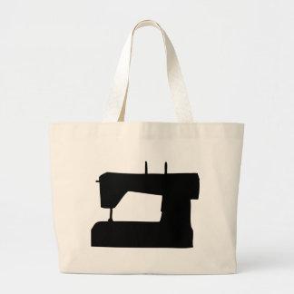 máquina de costura bolsas de lona