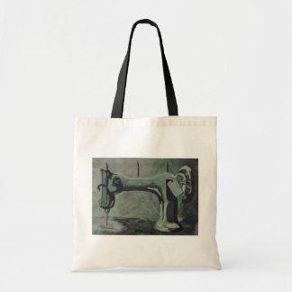 máquina de costura sacola tote budget