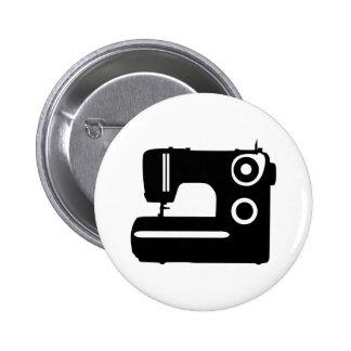 Máquina de costura boton