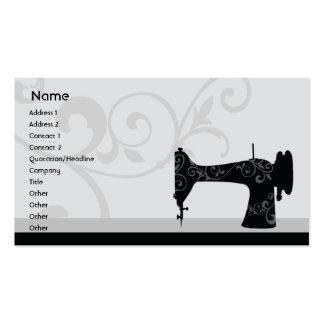Máquina de costura - negócio cartão de visita