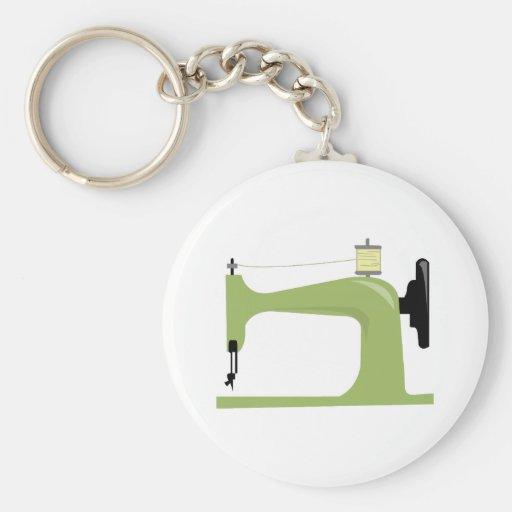 Máquina de costura chaveiro