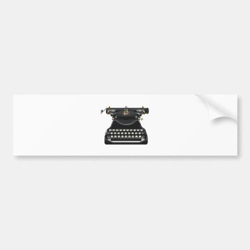 Máquina de escrever antiga adesivos