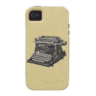 Máquina de escrever antiquado preta antiga do vint capinhas iPhone 4/4S