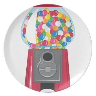 Máquina de Gumball Prato De Festa