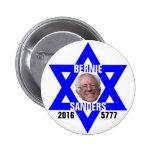 Máquina de lixar de Bernie para o presidente Bóton Redondo 5.08cm