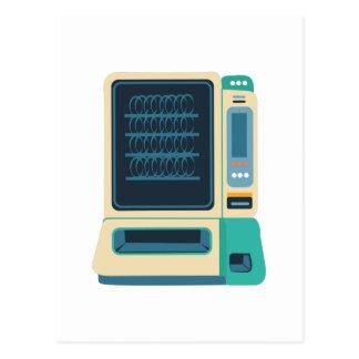 Máquina de venda automática cartão postal
