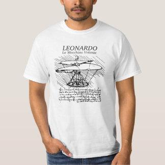 Máquina de vôo de Leonardo da Vinci! O vôo do Ge T-shirt