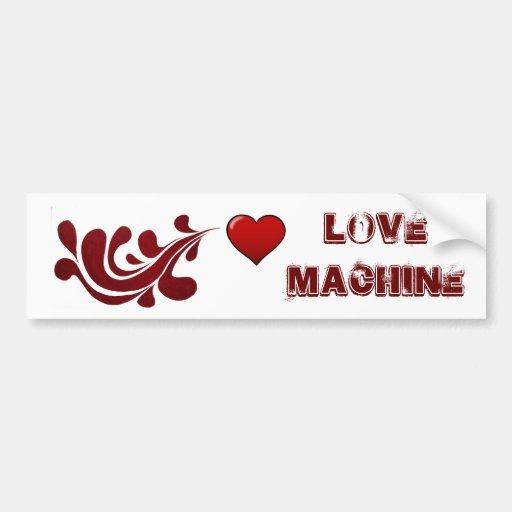 Máquina do amor adesivo