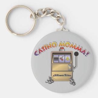 máquina do casino chaveiro