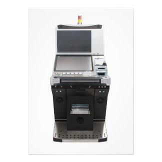 Máquina do jackpot convites