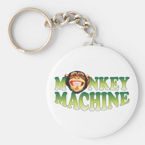 Máquina do macaco chaveiros