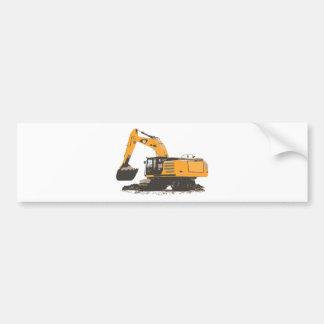 Máquina escavadora enorme da sujeira adesivos
