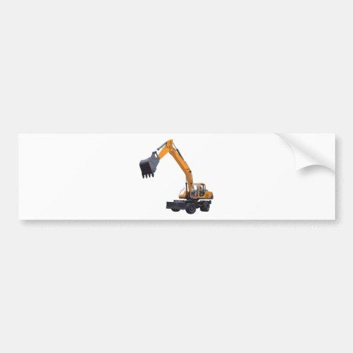Máquina escavadora grande do Bagger Adesivo