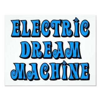 Máquina ideal elétrica convites