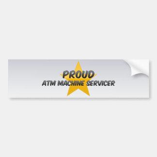 Máquina orgulhosa Servicer do Atm Adesivo