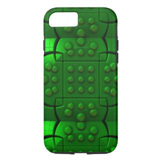 Máquina verde capa iPhone 7