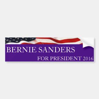 Máquinas de lixar de Bernie para o presidente 2016 Adesivo Para Carro