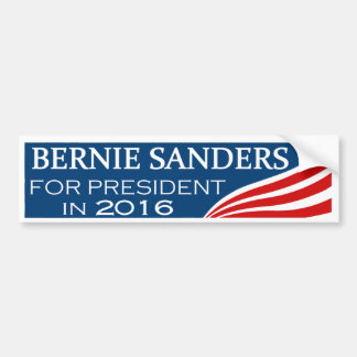 Máquinas de lixar de Bernie para o presidente Adesivo Para Carro