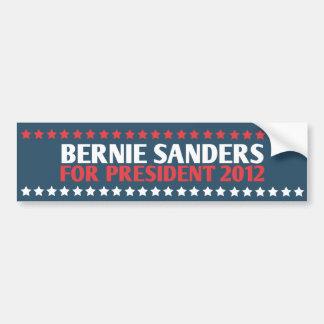 Máquinas de lixar de Bernie para o presidente auto Adesivos