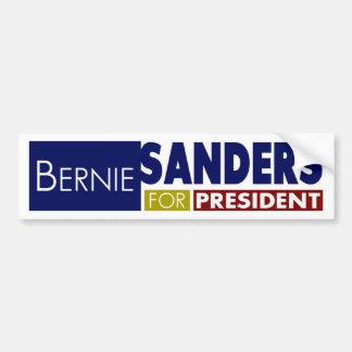 Máquinas de lixar de Bernie para o presidente V1 Adesivo