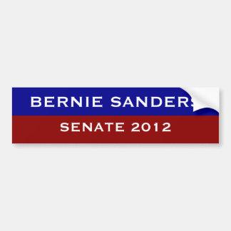 Máquinas de lixar de Bernie para o Senado Adesivo