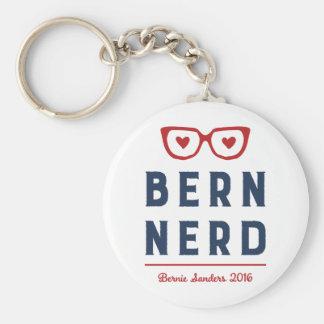 Máquinas de lixar engraçadas do nerd | Bernie de Chaveiro