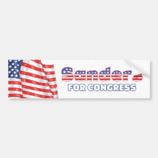 Máquinas de lixar para a bandeira americana patrió adesivos