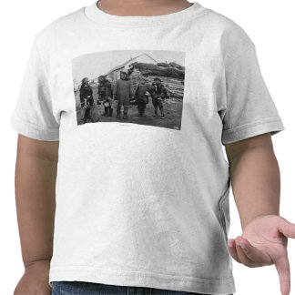 Máquinas desbastadoras Eskimo da baga em Nome, Camisetas