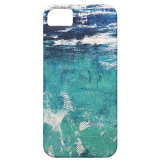 Mar abstrato que pinta 2 - capa de telefone