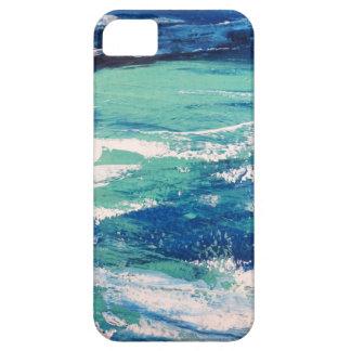 Mar abstrato que pinta 3 - capa de telefone