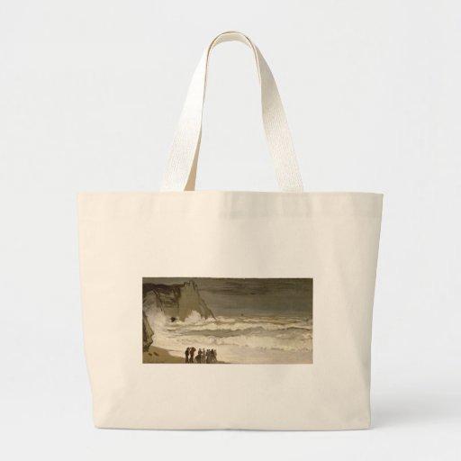 Mar áspero em Etretat (1868-1869) Bolsas