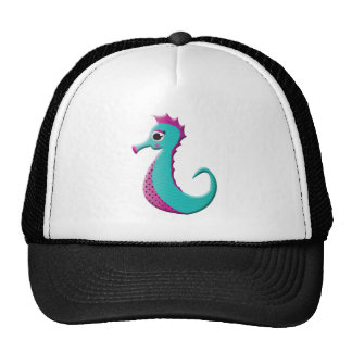 Mar-cavalo dos desenhos animados boné