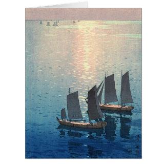 Mar Sparkling 1926 Cartão Comemorativo Grande