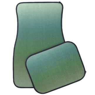 Mar verde azul de Ombre Tapete Para Carro