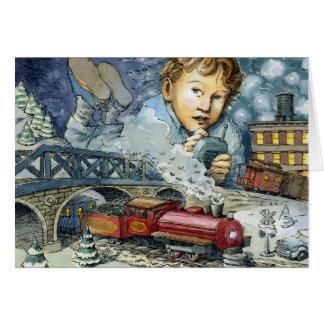 """""""Maravilha como você vagueia"""" cartão de Natal"""