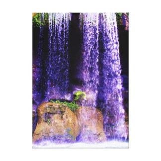 Maravilha da cachoeira impressão em tela