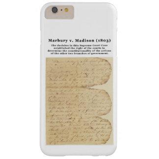 Marbury v. Madison, 5 E.U. 137 (1803) Capas iPhone 6 Plus Barely There