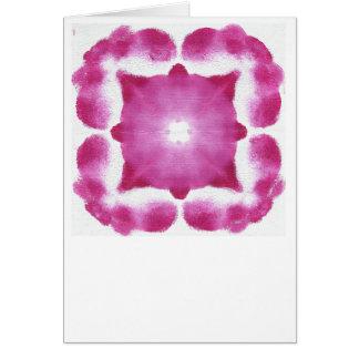 Marca da luz universal cartão comemorativo