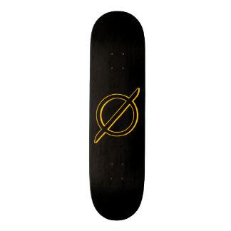 "Marca de Slasherpoint Zero™ de ""skate zero cortes"" Shape De Skate 21,6cm"
