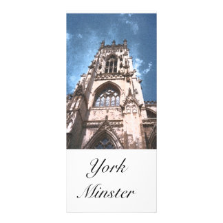 Marcador da igreja c de York Panfletos Informativos Personalizados