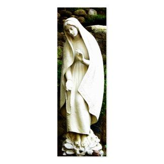 MARCADOR da Virgem Maria Cartão De Visita Skinny