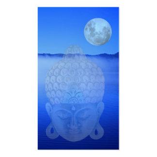 Marcador de Buddha Cartões De Visita
