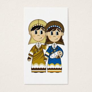 Marcador de Mary & de Joseph Cartão De Visitas