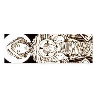 Marcador de Stella Maris Cartão De Visita Skinny